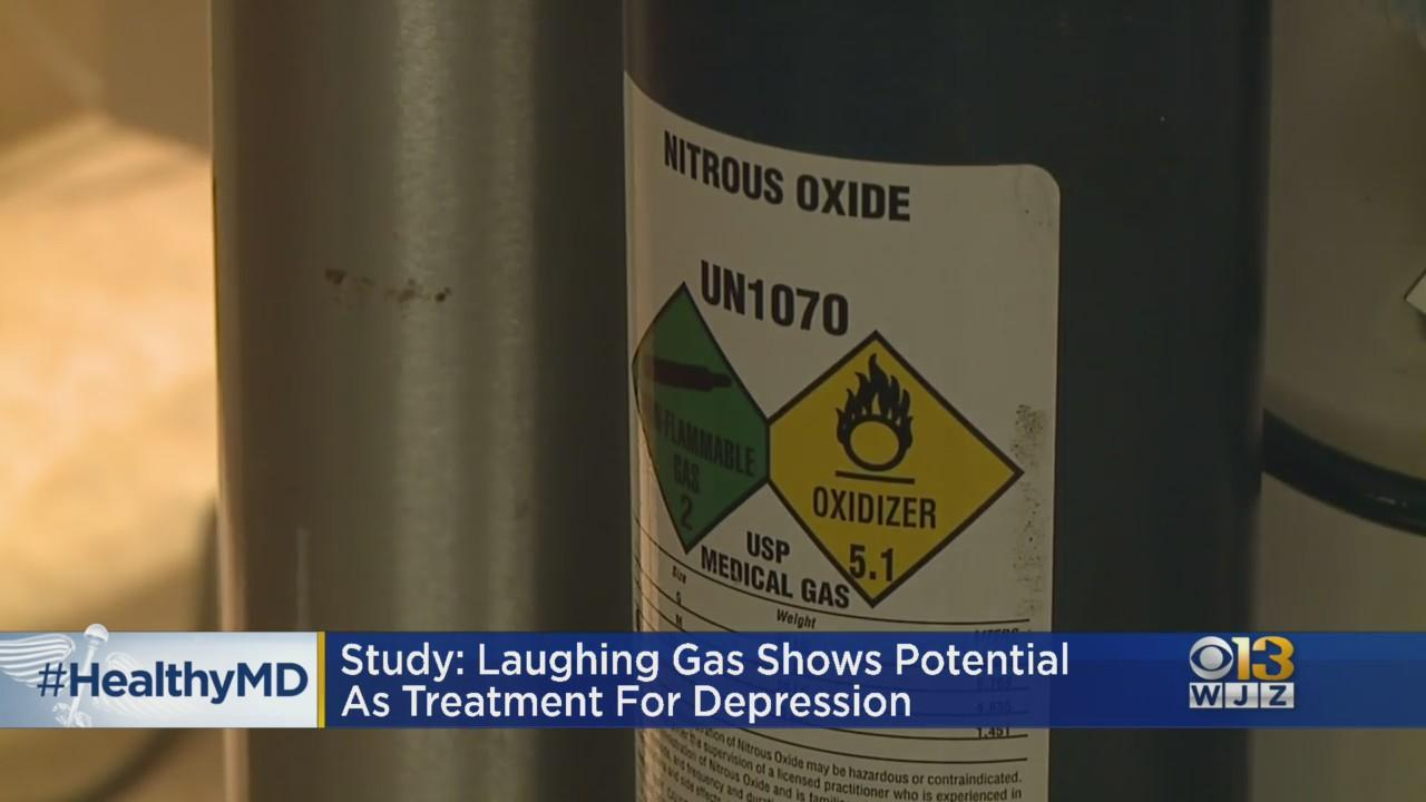 HealthWatch: Laughing Gas Shows Potential As Treatment For Depression