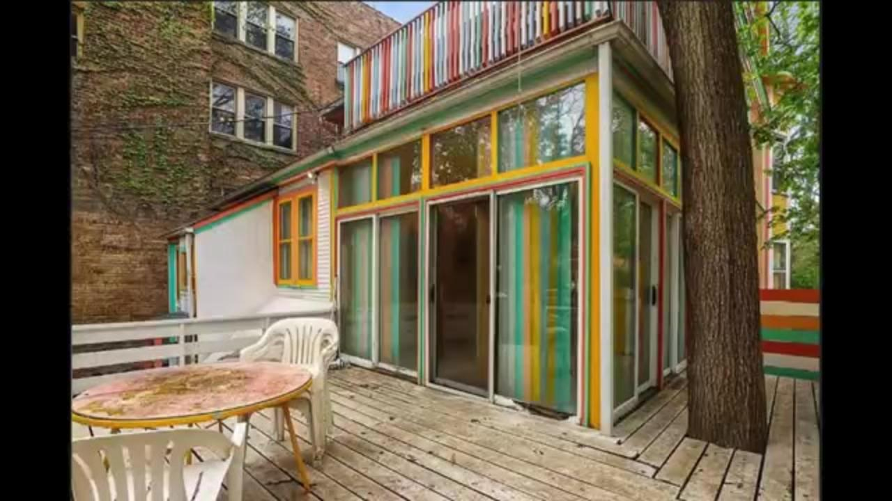 This Chicago 'Candy Land' house is up for sale