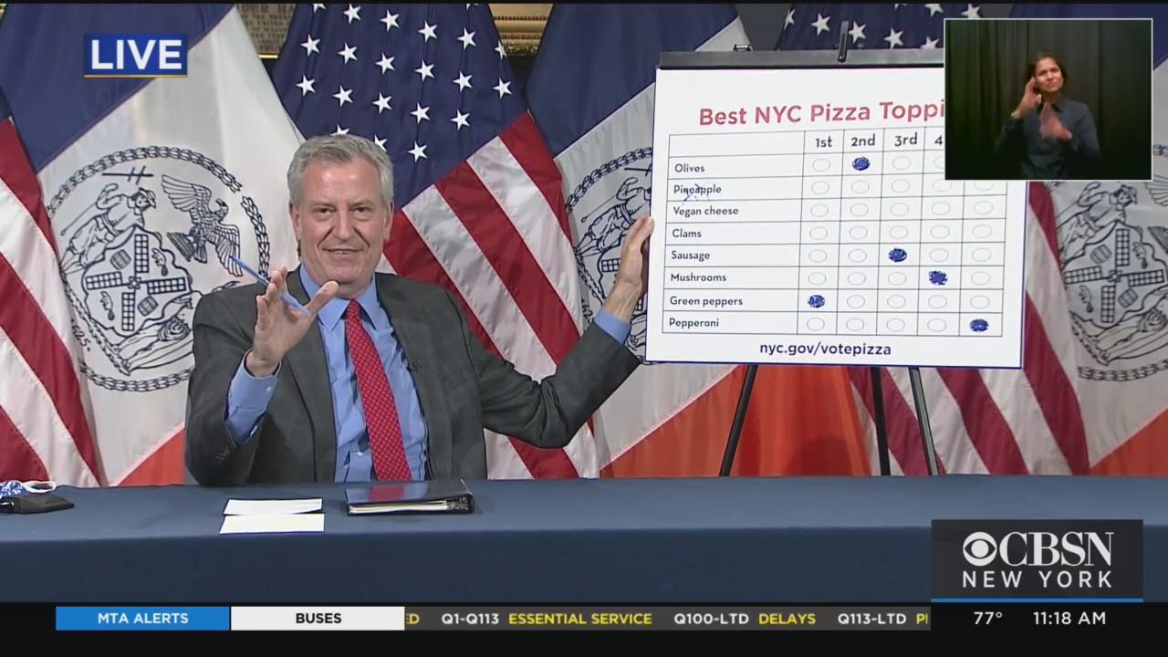 Mayor De Blasio's Daily Briefing