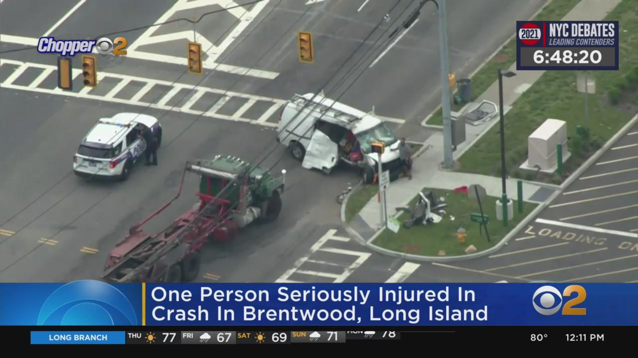 Person Seriously Hurt In Brentwood Crash