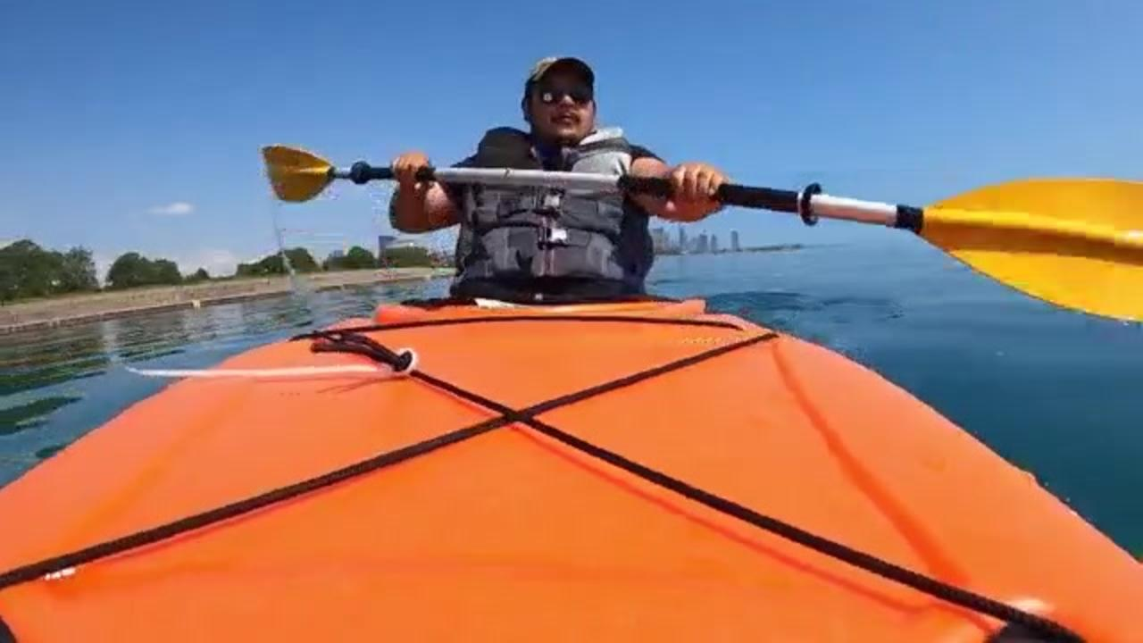 Chicago man takes up kayaking after being laid off mid-pandemic, logs more than 1,000 hours
