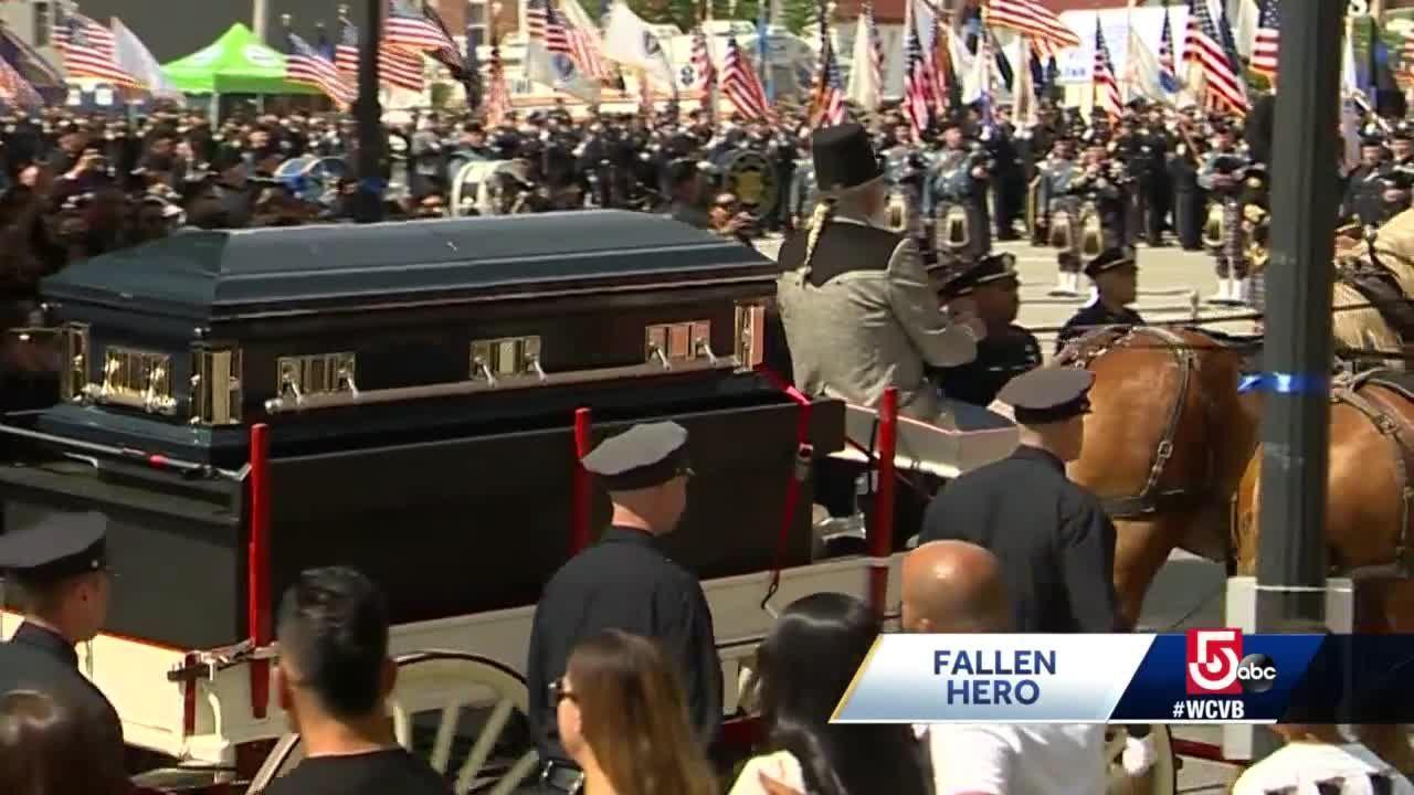 Fallen officer remembered for bravery, love of family
