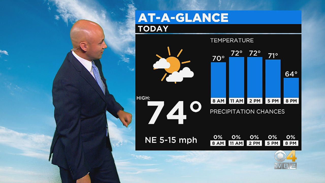 WBZ Midday Forecast For June 10