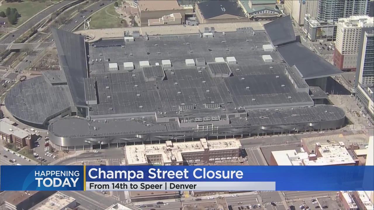 Downtown Denver Detour In Place As Crane Arrives At Colorado Convention Center