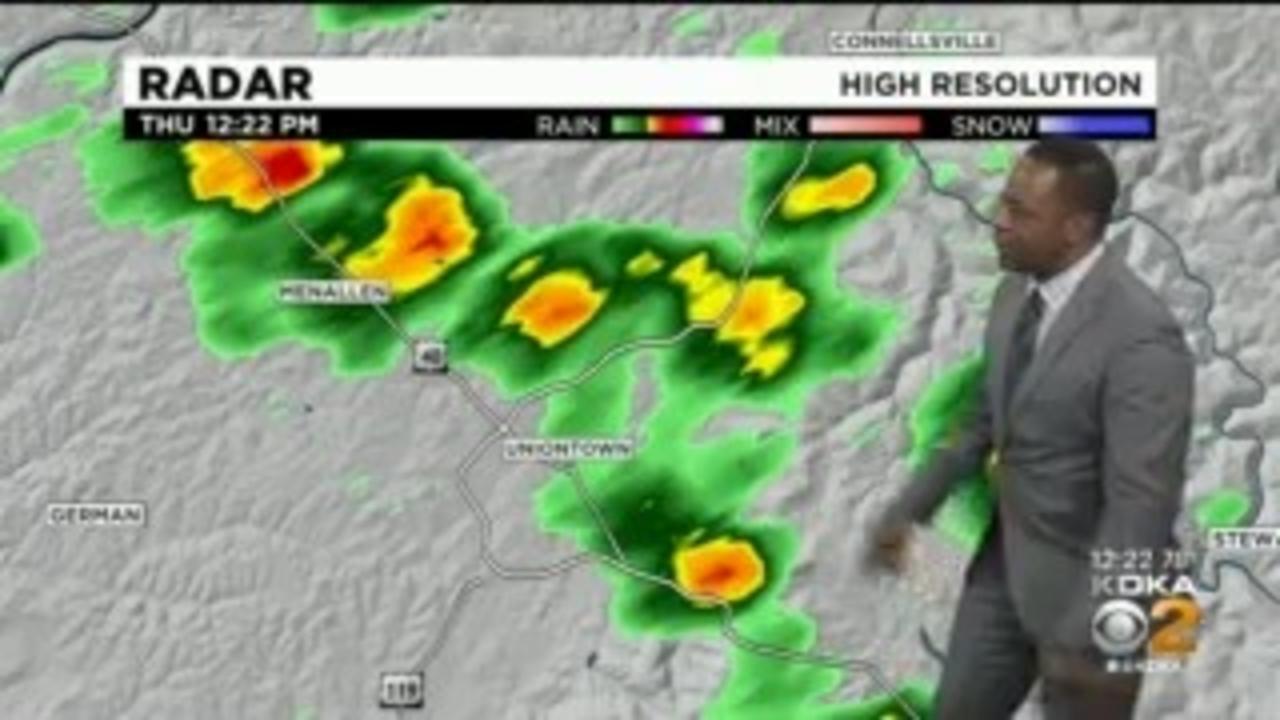 KDKA-TV Afternoon Forecast (6/10)