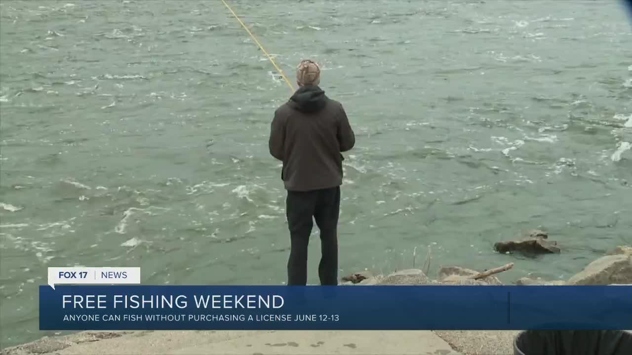 DNR talks free fishing weekend