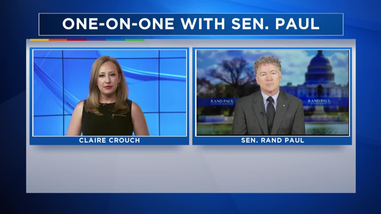 One-on-one interview with Sen. Rand Paul