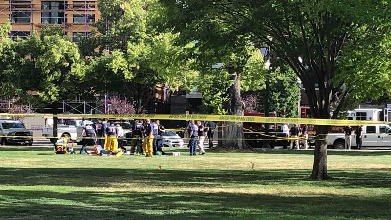 Man dead after SLC officer shooting at Pioneer Park