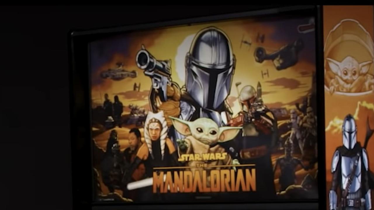 The Mandalorian is getting his own pinball machine