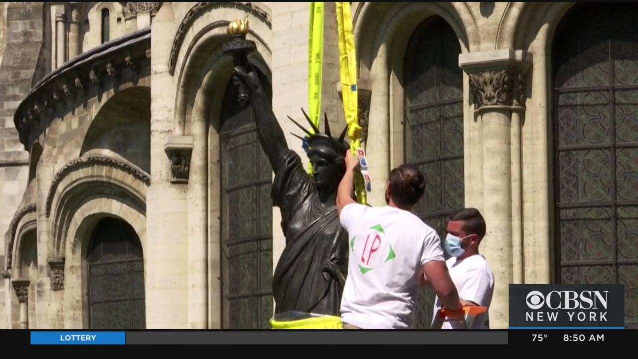 France Sending Replica Statue Of Liberty To NYC