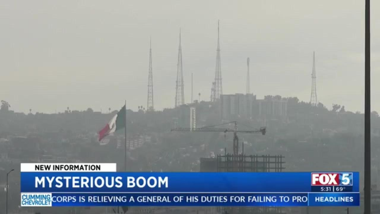 With earthquake and bomb ruled, mystery San Diego 'boom' was likely sonic