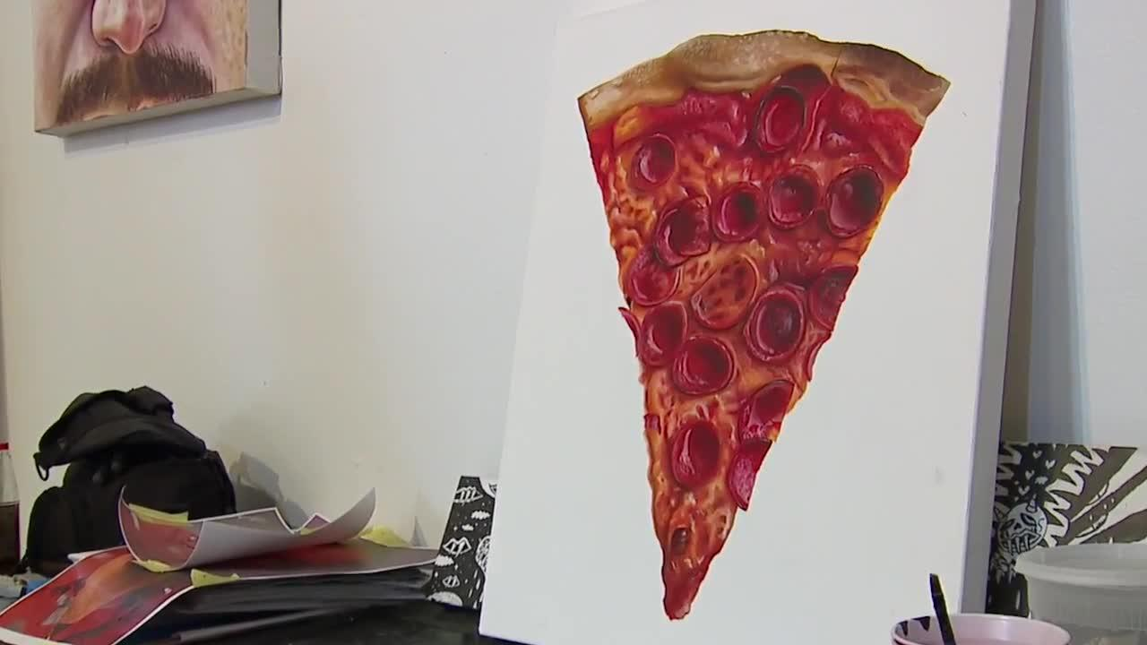 Cleveland Hidden Gem: The Pizza Mural