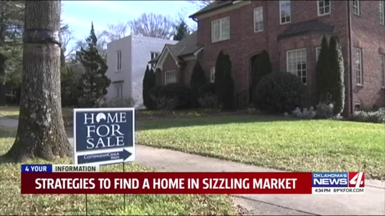 Strategies you can use to find a home in this sizzling market