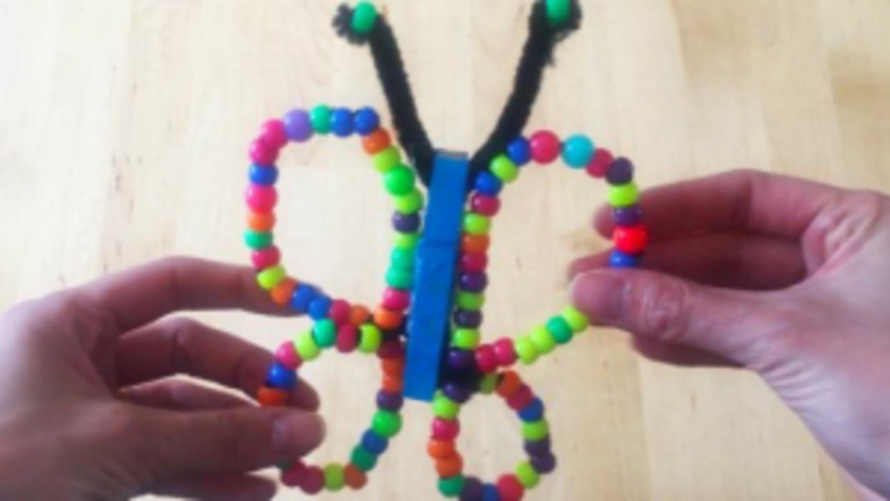This Colorful Butterfly Magnet Activity Will Keep Kids Entertained