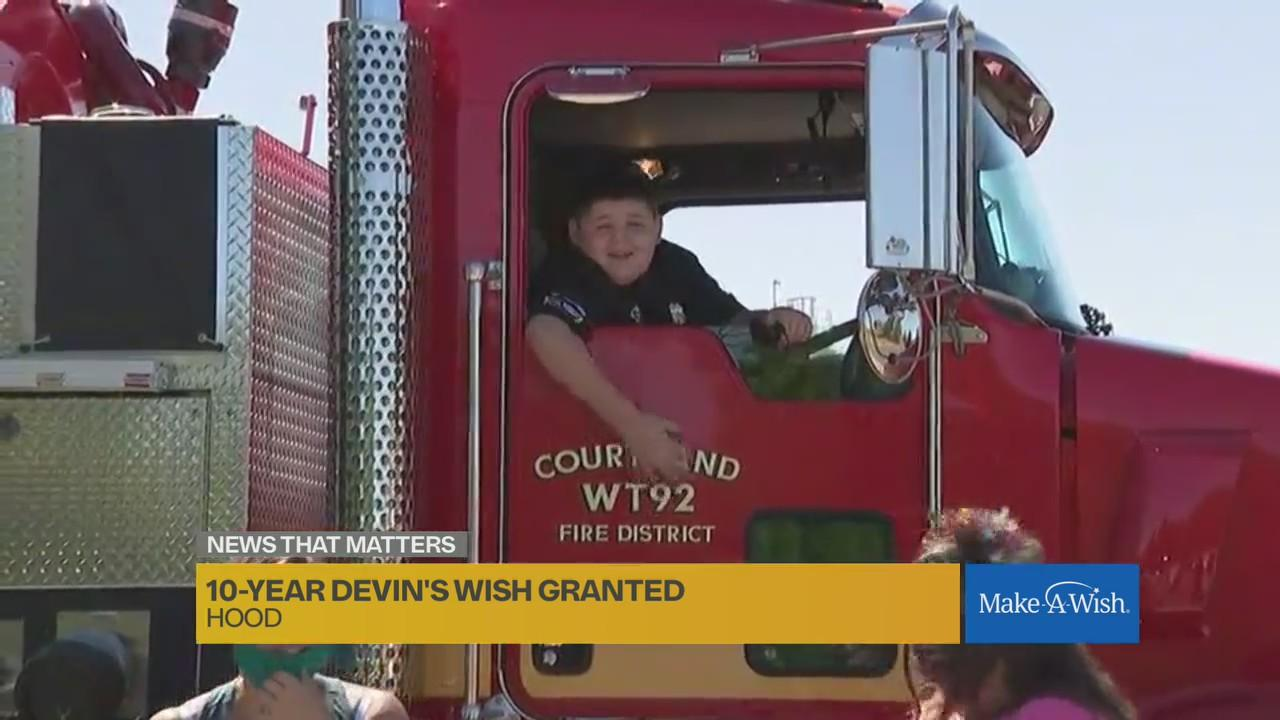 'Today is never going to be outdone': Make-A-Wish puts on parade for Sacramento boy who loves law enforcement
