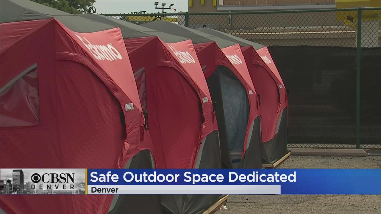'Safe Outdoor Space' Opens At Regis University For Those Experiencing Homelessness