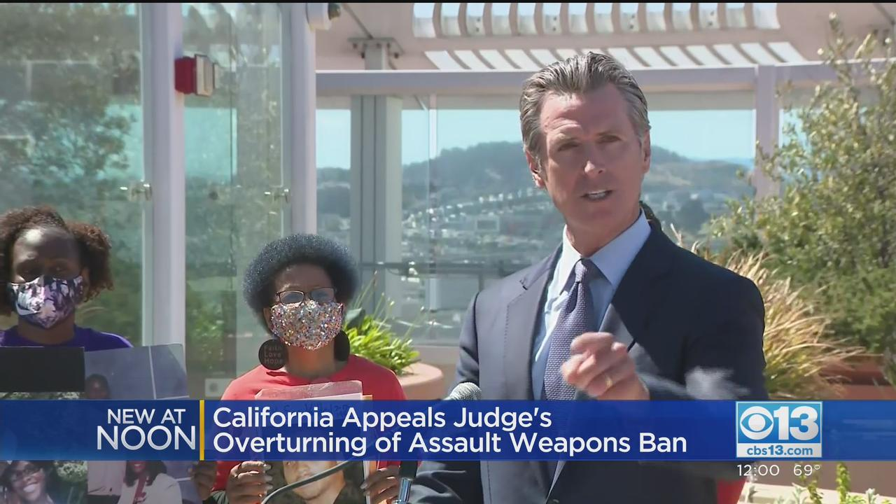 California Appeals Federal Judge's Ruling That Overturned State's Assault Weapons Ban