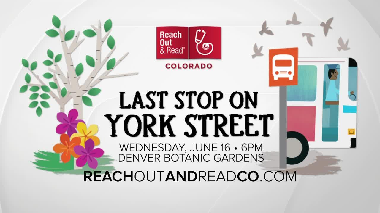 Reach Out and Read Colorado's Last Stop on York Street