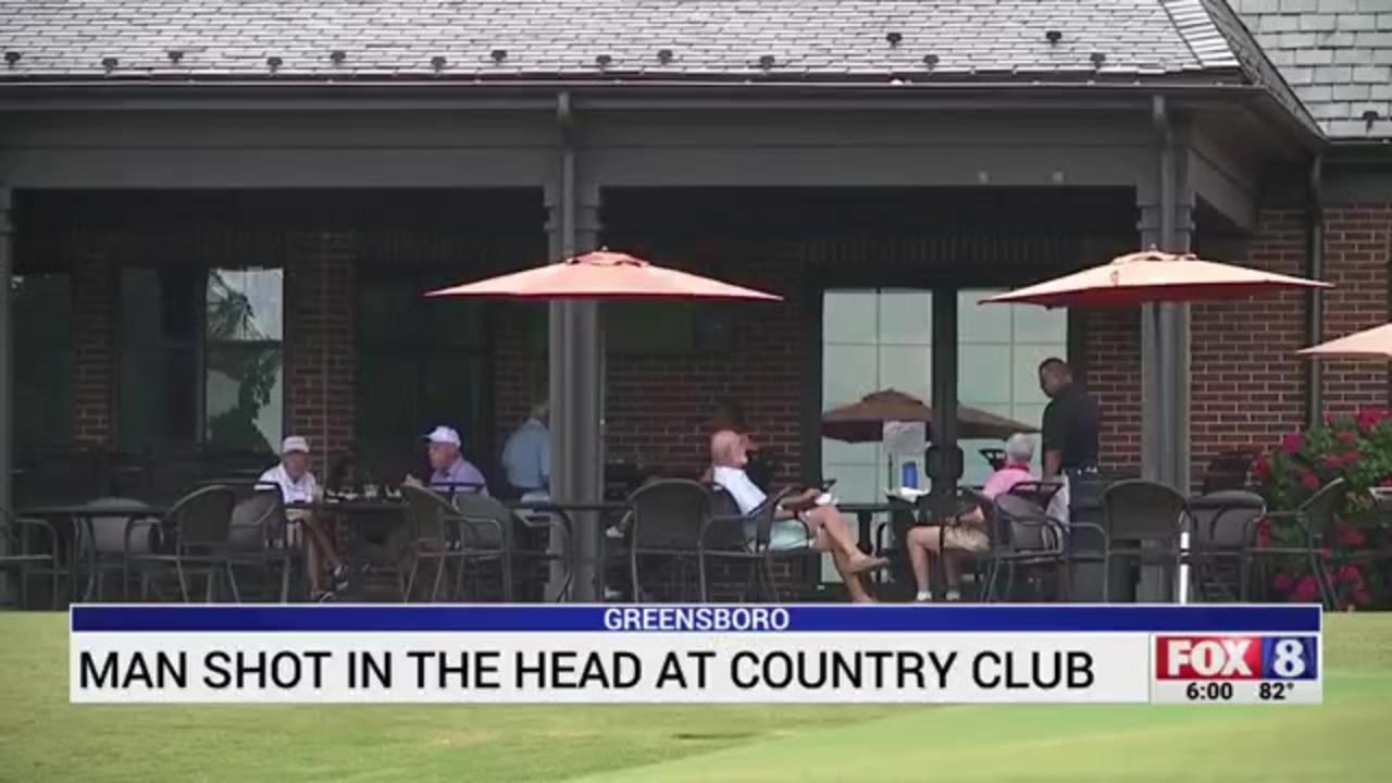 Man shot in the head by stray bullet while dining at North Carolina country club
