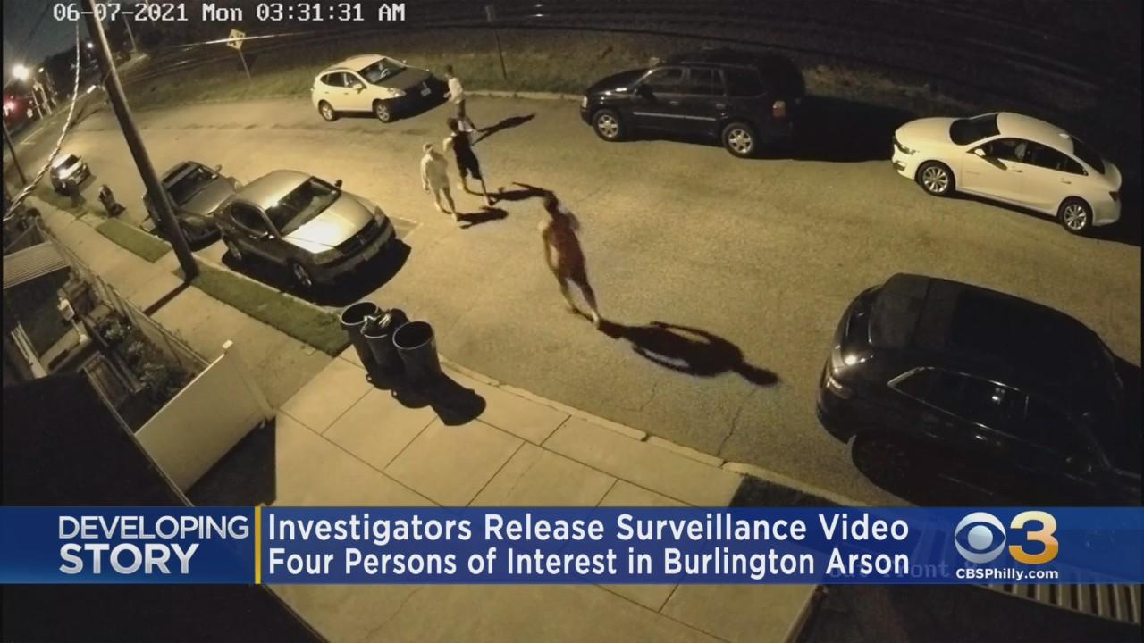 Burlington County Police Release Surveillance Video Of Suspect Wanted In Arson At McNeal Mansion