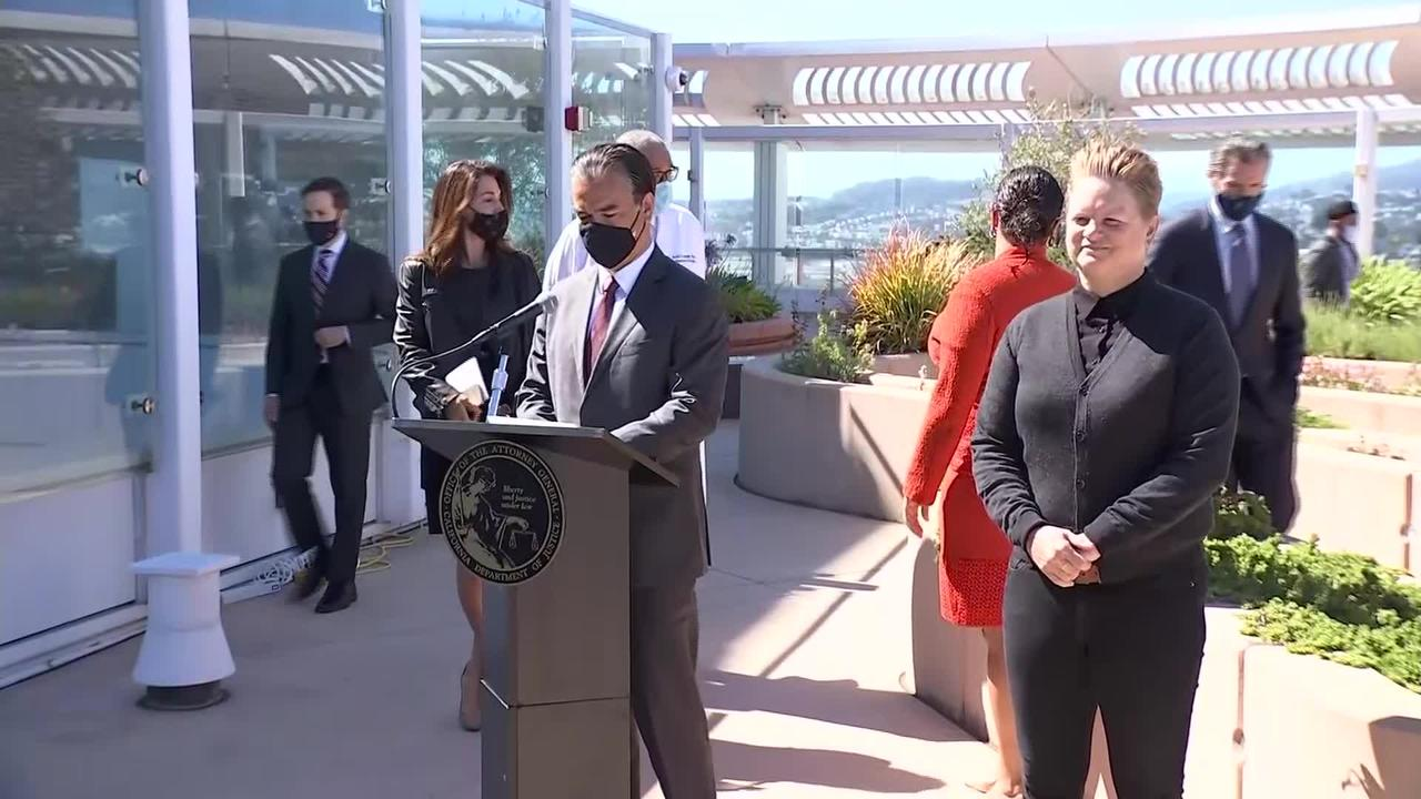 Raw Video: Governor Newsom, Attorney General Bonta Announce Appeal Of Assault Weapon Ban Ruling