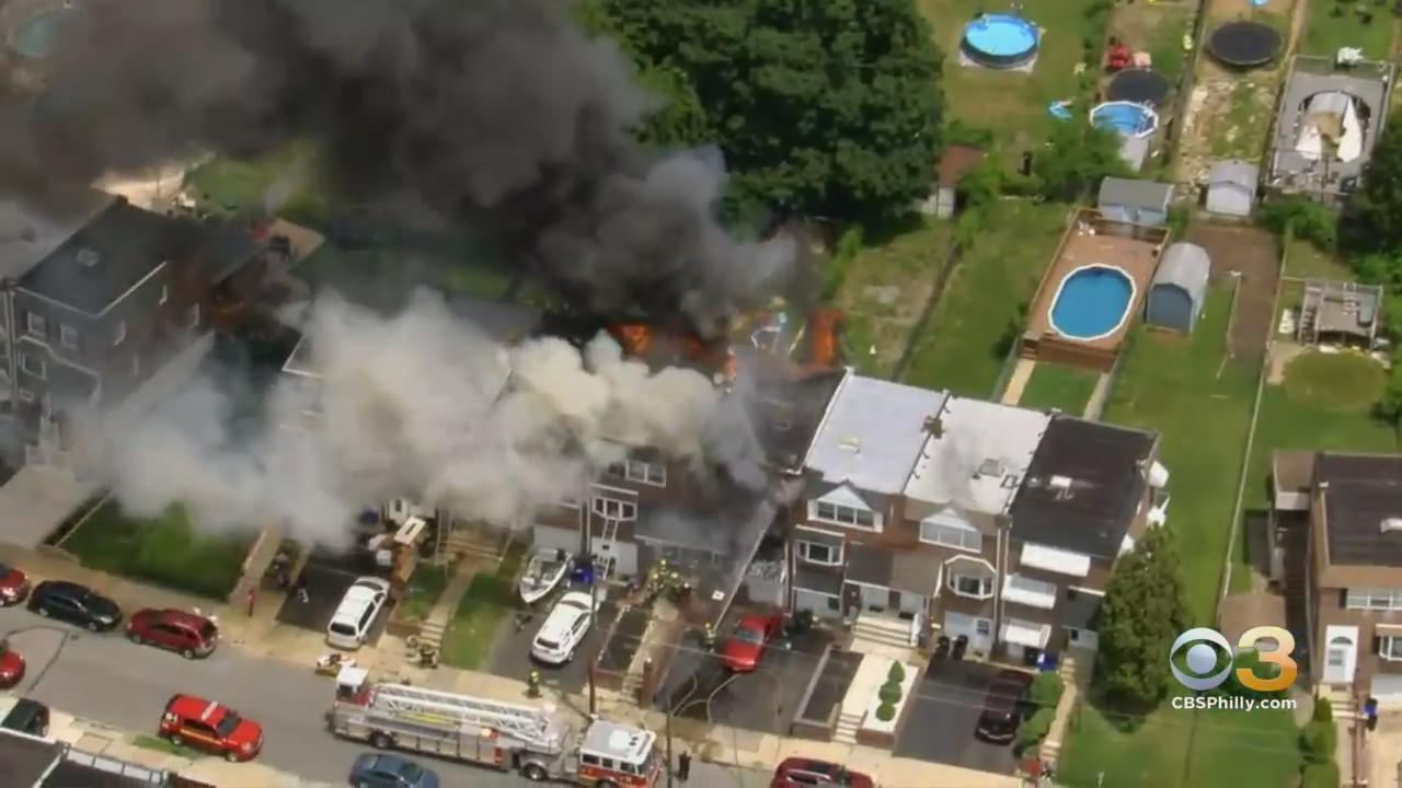 Flames Engulf Northeast Philadelphia Home In 'All Hands On Deck' Blaze