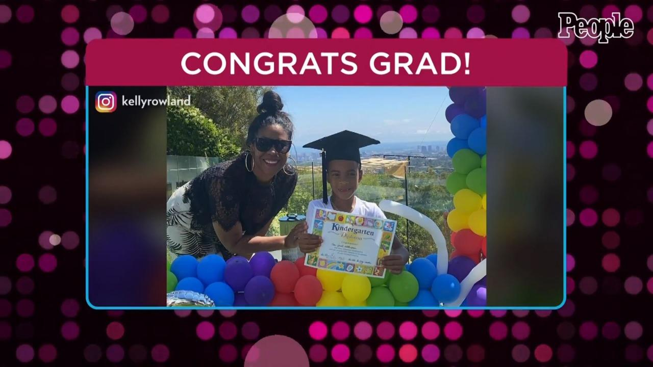 Kelly Rowland Celebrates Son Titan's Kindergarten Graduation: 'Proud Would Be an Understatement'