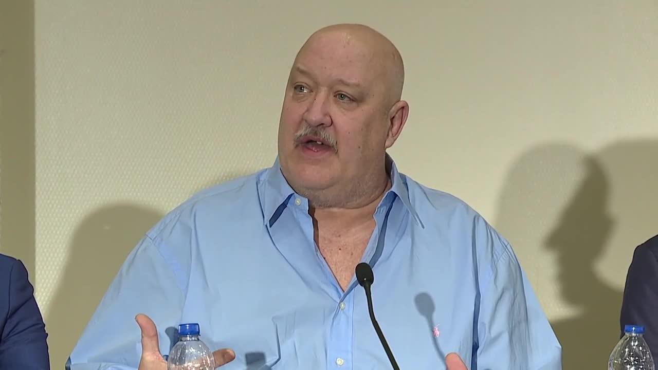 Matt Schembechler news conference
