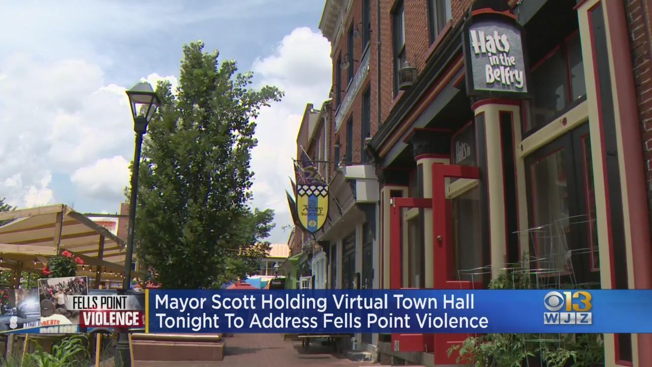 Mayor Scott Holding Virtual Town Hall To Address Fells Point Violence