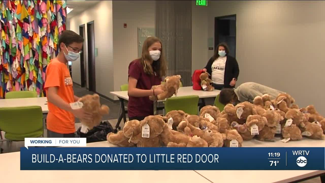 Build-A-Bears Donated to Little Red Door