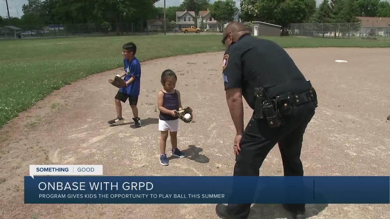 GRPD starts summer baseball program back up