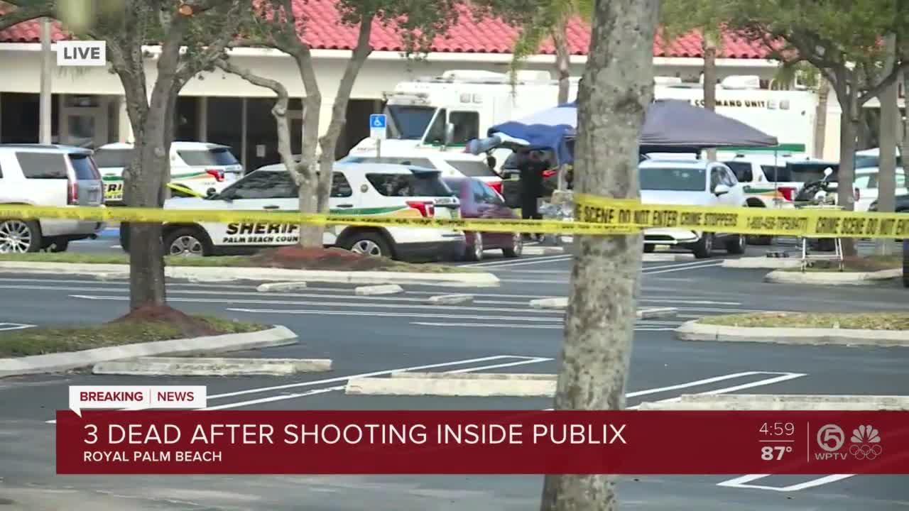 PBSO investigates circumstances of deadly Publix shooting