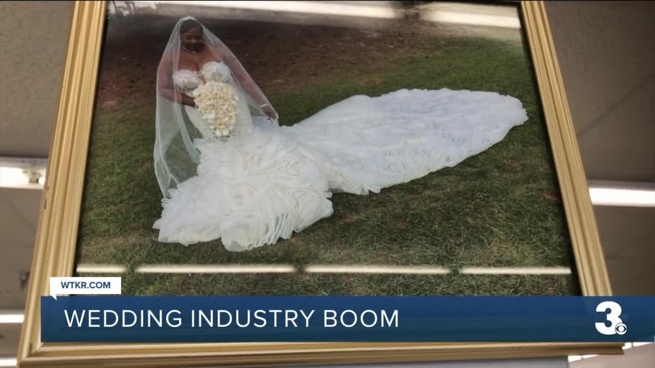 Sales soar at Norfolk bridal shop as wedding industry sees boom