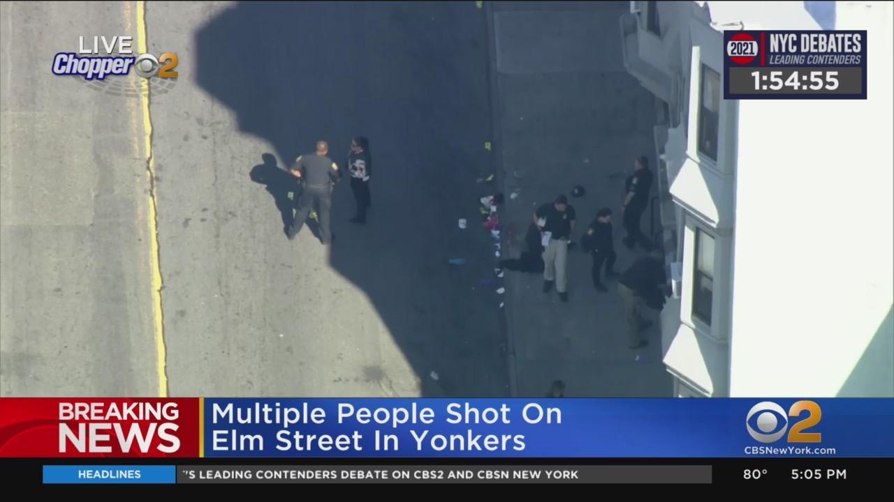 Multiple People Shot In Yonkers