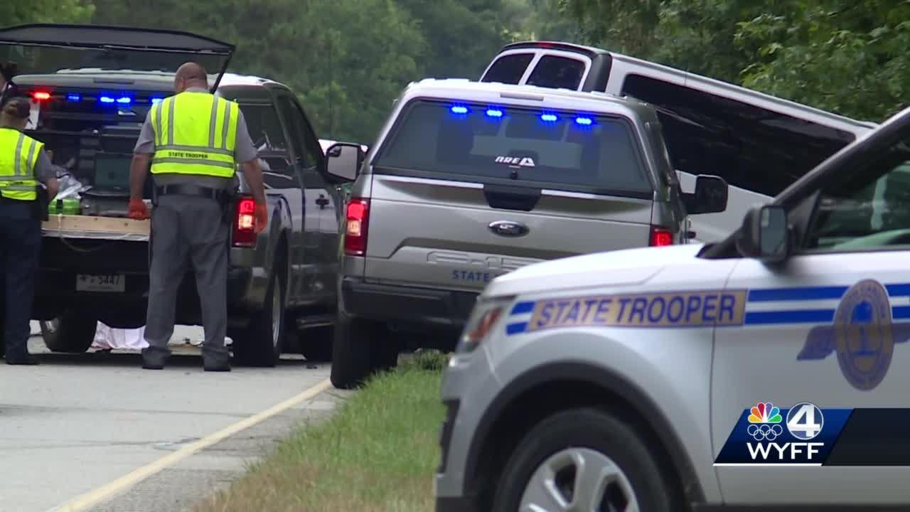 SCDOT van driver killed in head-on crash