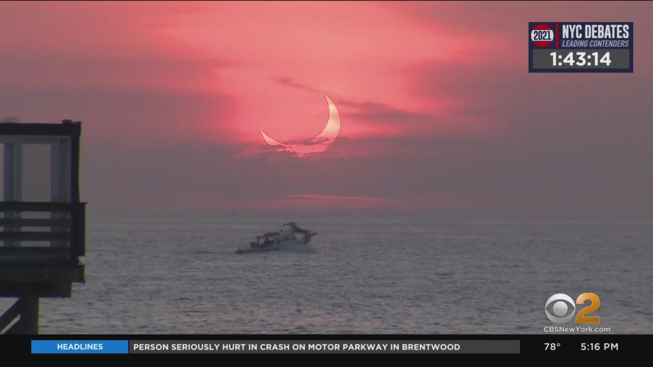 Rare Sunrise Eclipse Wows Early Risers Across Tri-State Area