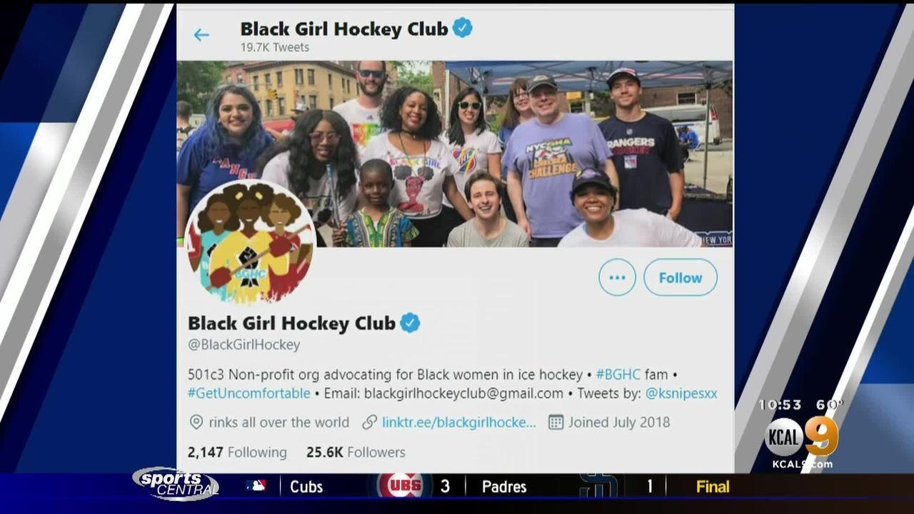 O'Ree Award Finalist is Founder of Black Girl Hockey Club
