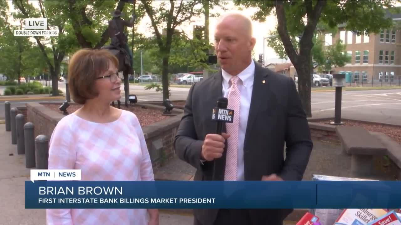 First Interstate Bank makes large donation to Double Down For Kids