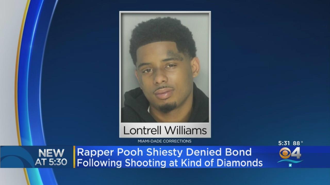 Rapper Pooh Shiesty Denied Bond In King Of Diamonds Strip Club Shooting Case