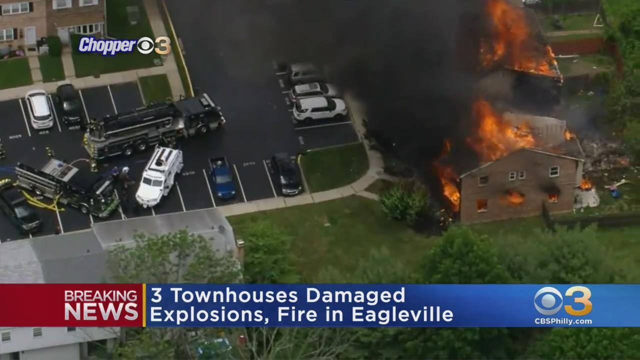 3 Townhomes Damaged In Explosion In Eagleville