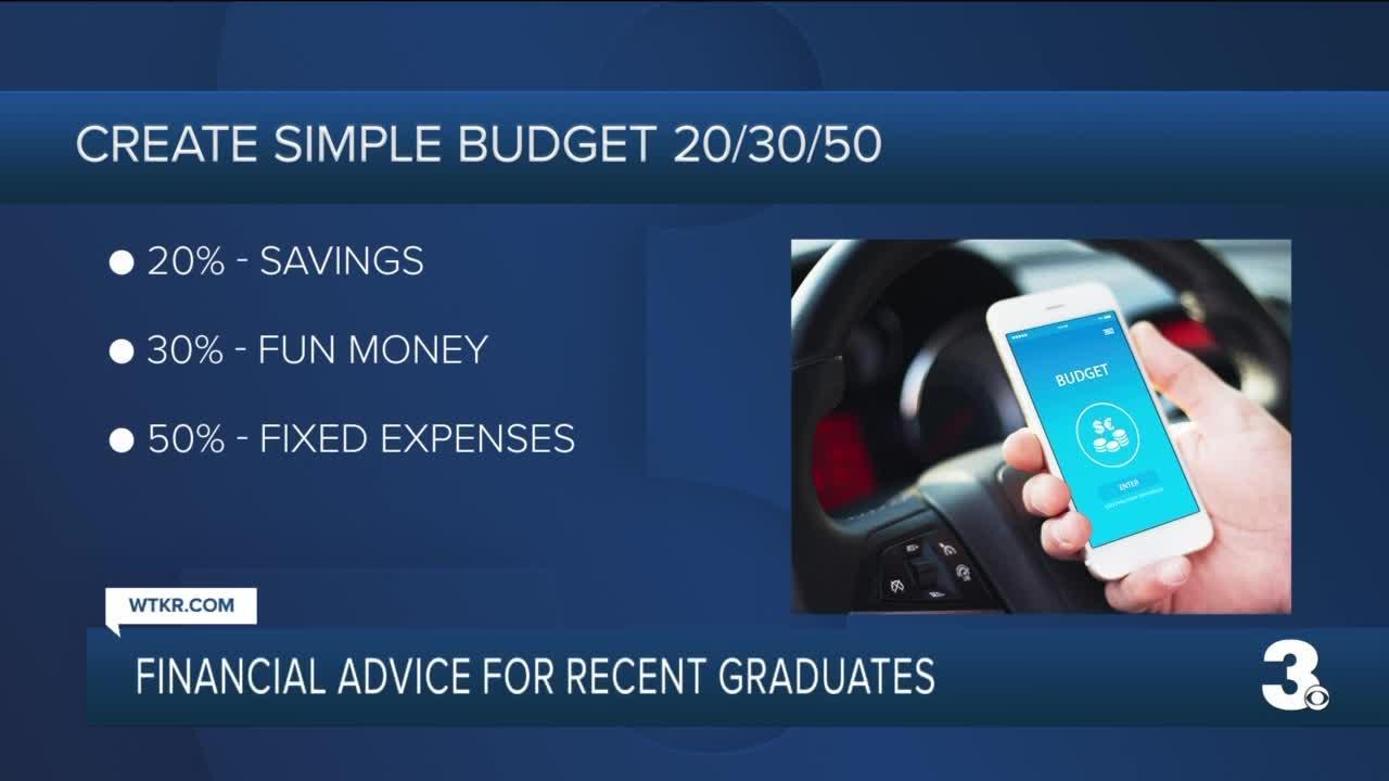 Financial advice for recent graduates
