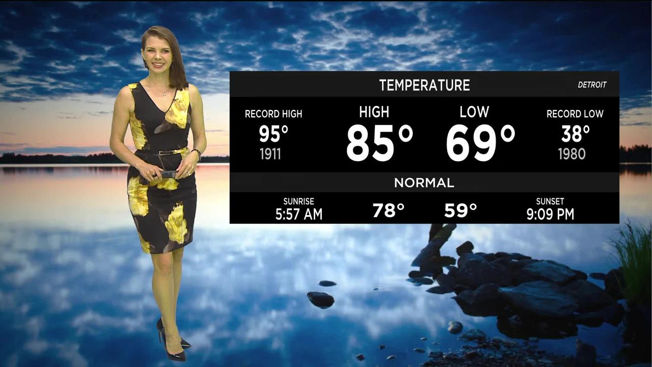 First Forecast Weather June 10, 2021 (Tonight)