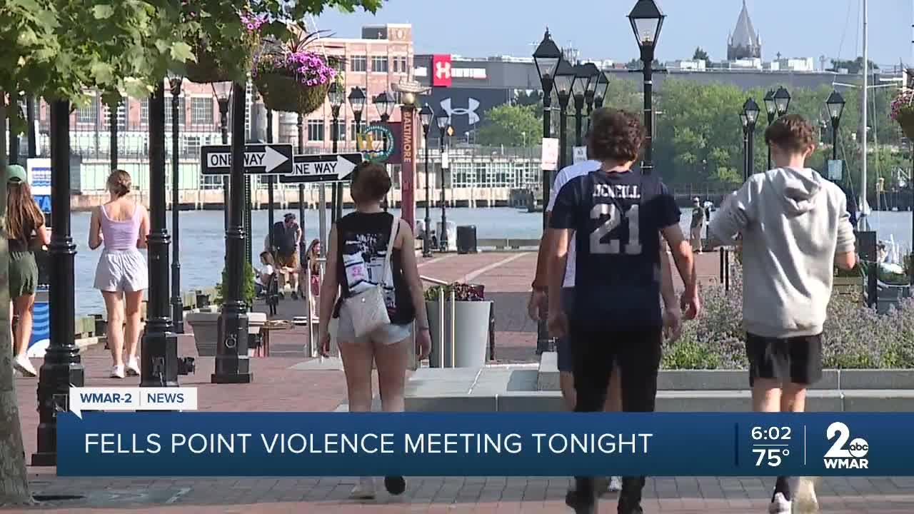 Virtual Town Hall to be held to discuss violence in Fells Point