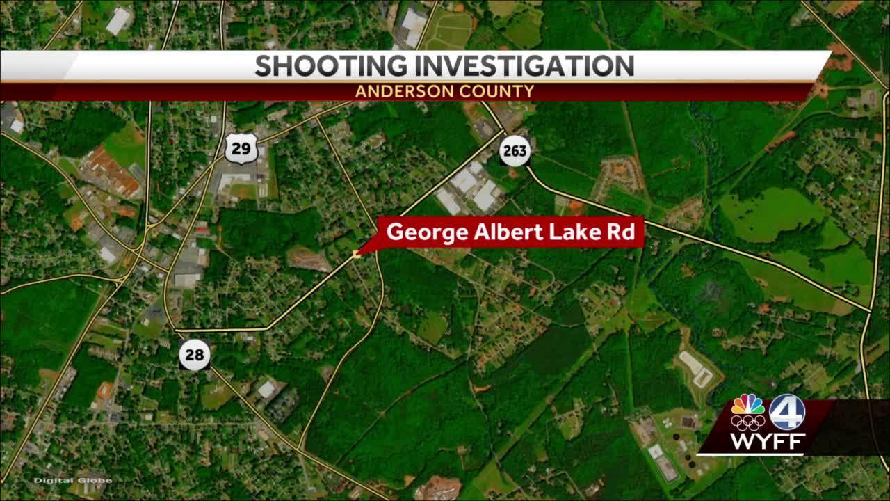 Upstate man shot at least once, taken to hospital, deputies say