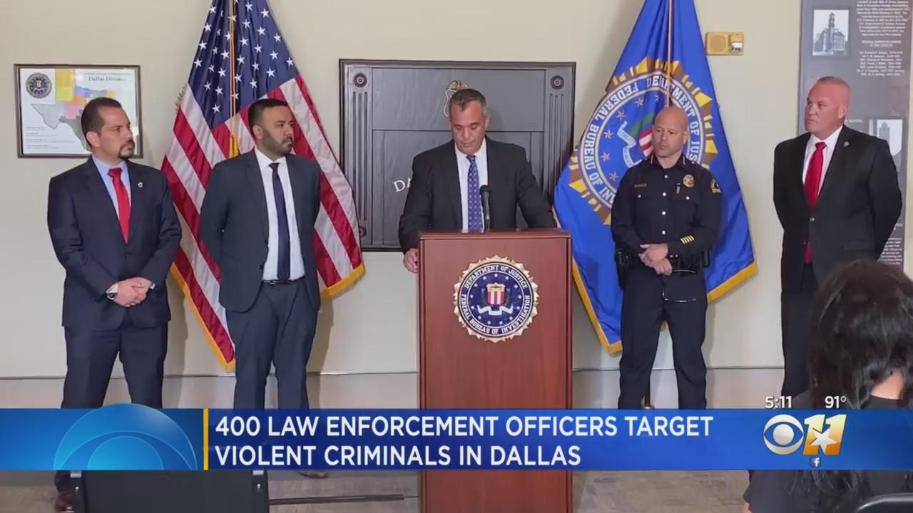 Multiple Arrests Made In Large-Scale Operation In Fair Park Area Of Dallas To Address Violent Crime