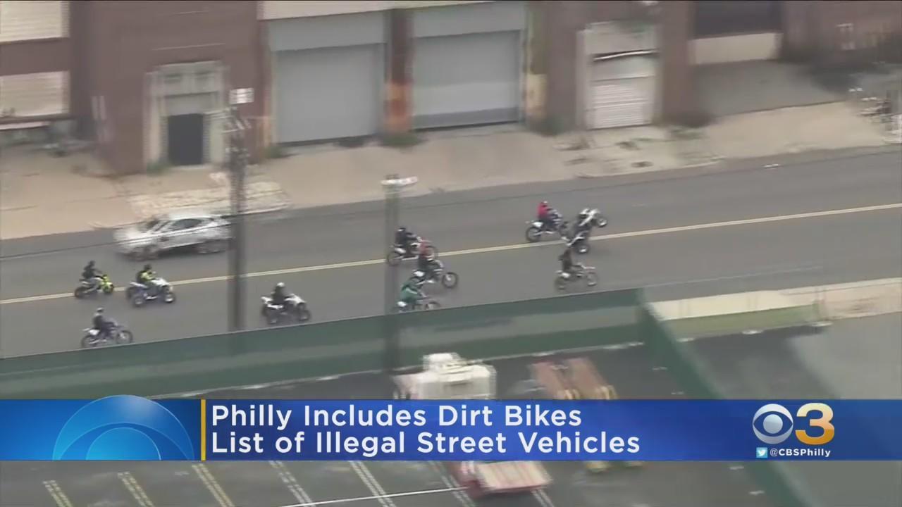 Dirt Bikes, ATVs Now Illegal Vehicles On Philadelphia Streets