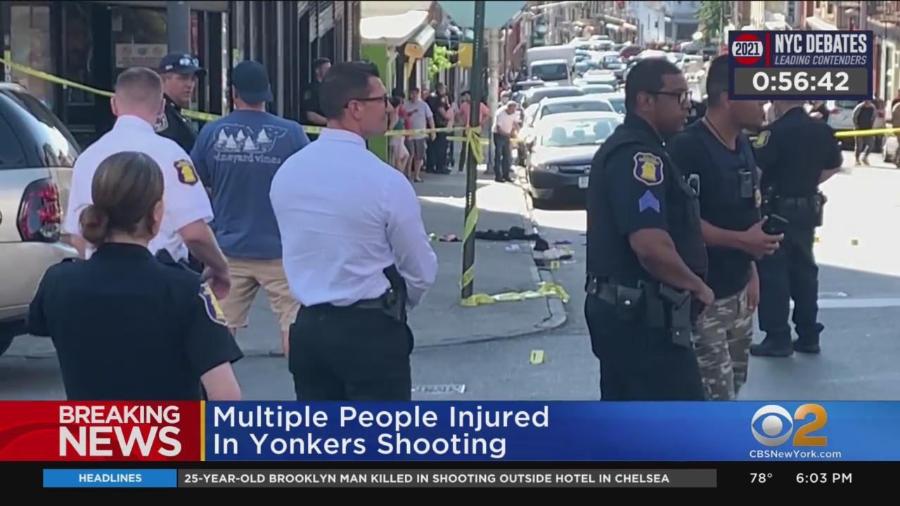 4 Injured In Yonkers Shooting