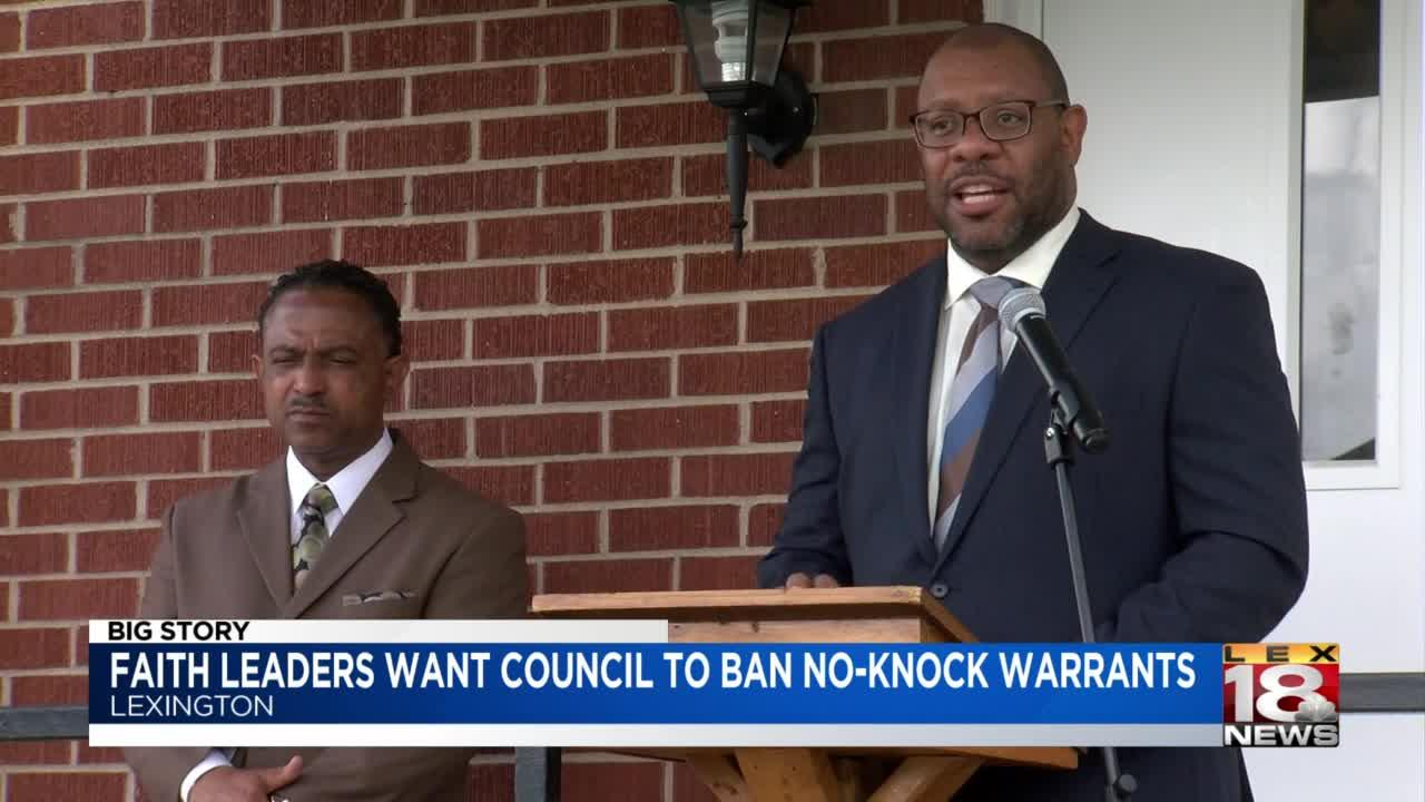 Black faith leaders push back against no-knock warrants opposition