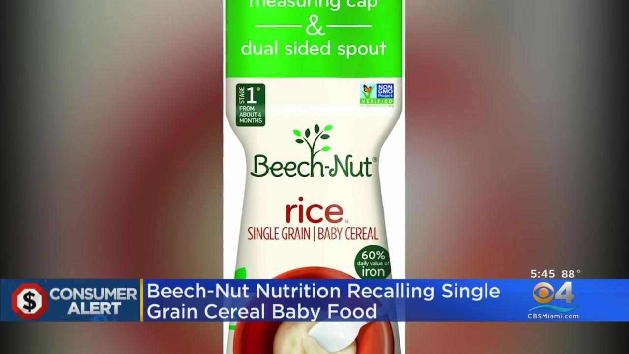 Recall Alert: High Arsenic Levels Found In Beech-Nut Baby Rice Cereal