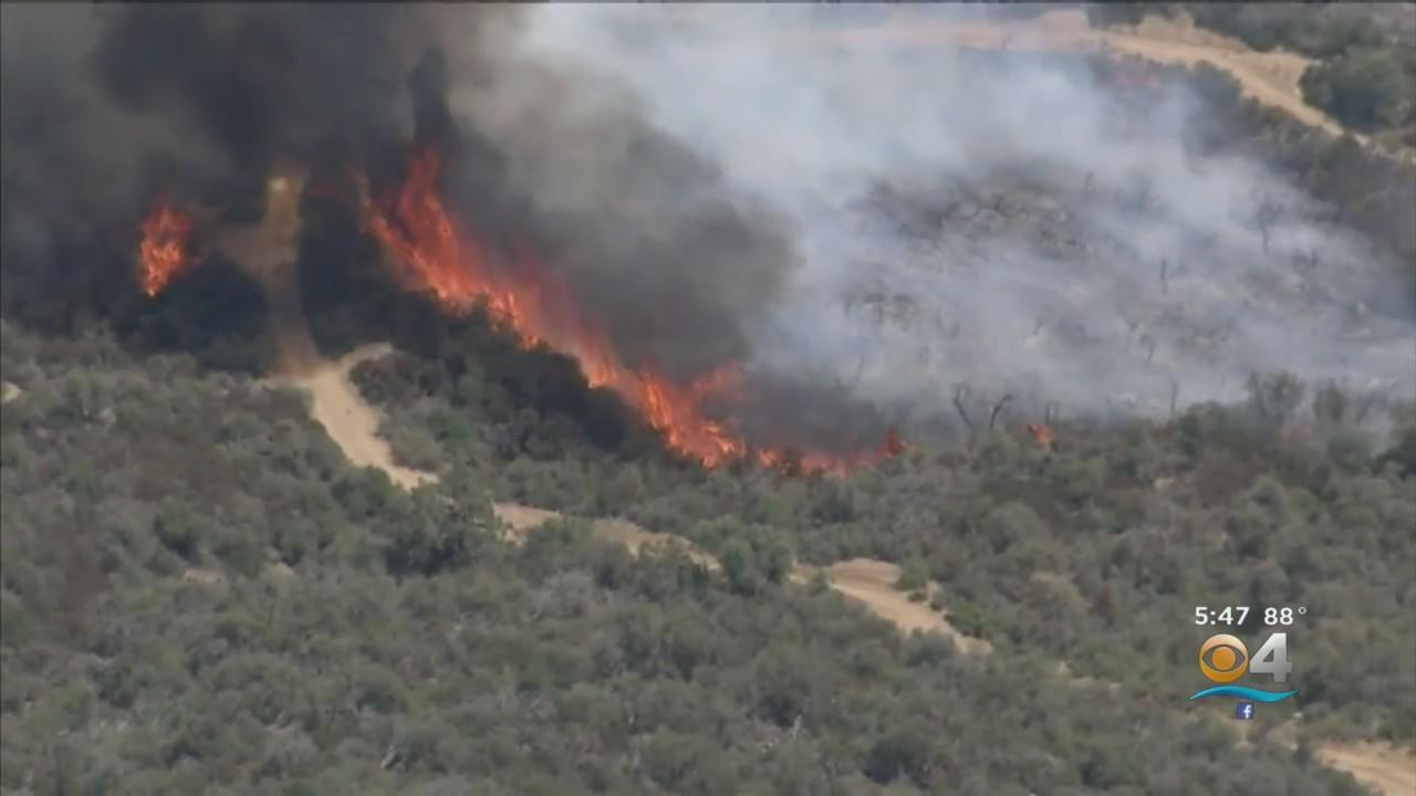 Threat Of Extreme Fire Season Ahead With Western States Experiencing 'Mega-Drought'